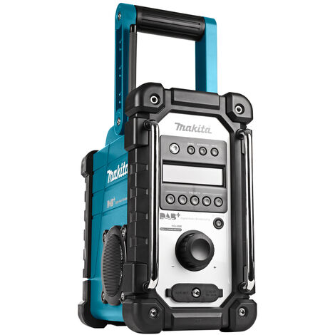 Makita DMR110 7.2-18V Radio de chantier DAB+ - secteur & batterie