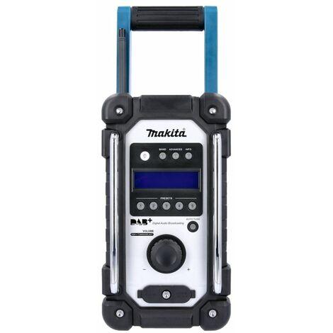 "main image of ""Makita DMR110 7.2V-18V DAB / DAB+ Blue Job Site Radio Body Only"""