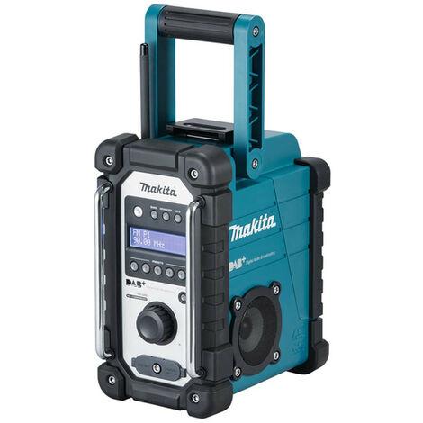 Makita DMR110 DAB/DAB+ 7.2v-18v Blue Jobsite Radio Bare Unit