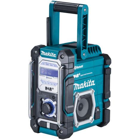 Makita DMR112 Radio de chantier 7,2 a 18 V Li Ion (Produit seul) DAB DAB+ et Bluetooth