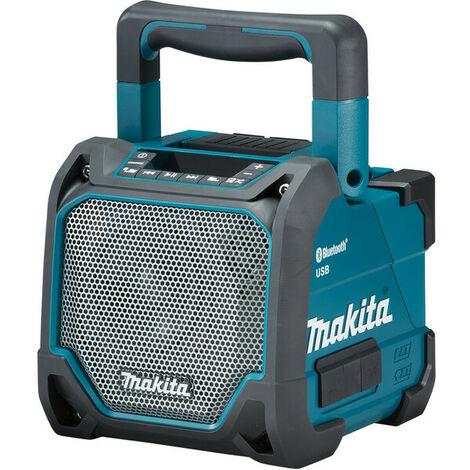 Makita DMR202 10,8-18V Enceinte Bluetooth à batterie Li-Ion - fonctionne sur secteur