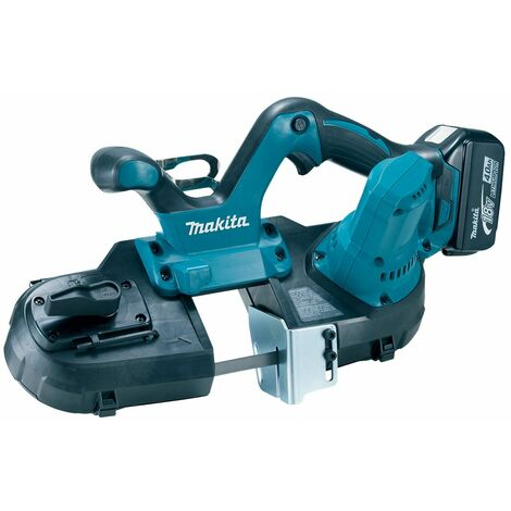 Makita DPB181RME Scie à ruban à batteries 18V Li-Ion set (2x batterie 4.0Ah) dans sac - 64mm