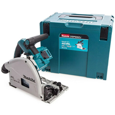 """main image of """"Makita DSP600ZJ 36V LXT Brushless 165mm Plunge Saw Body with Makpac Case"""""""