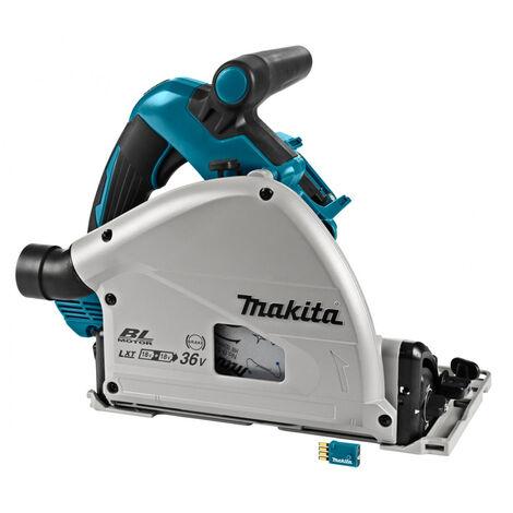 Makita DSP601ZJU Scie plongeante à batteries 36V (2x 18V) Li-Ion (machine seule) dans MAKPAC (AWS) - 160 x 20 x 56mm