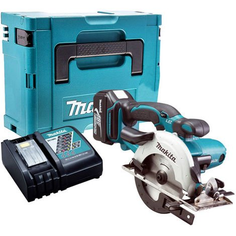 Makita DSS501Z 18V Circular Saw with 1 x 4.0Ah Battery & Charger in Case:18V