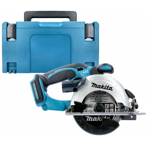 Makita DSS501Z 18v LXT Cordless 136mm Circular Saw With 821551-8 Type 3 Case