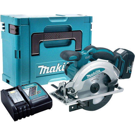 Makita DSS610Z 18V Circular Saw with 1 x 3.0Ah Battery & Charger in Case:18V