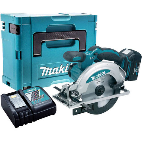 Makita DSS610Z 18V Circular Saw with 1 x 4.0Ah Battery & Charger in Case:18V