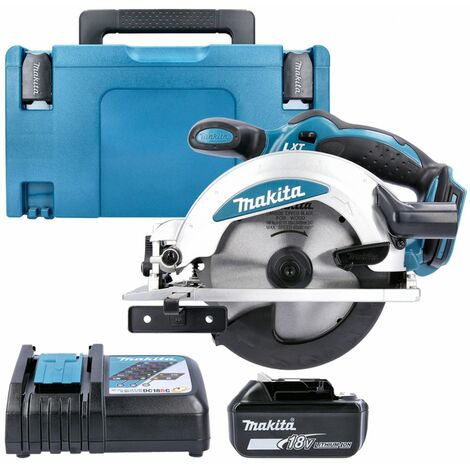 Makita DSS610Z 18V Circular Saw With 1 x 5.0Ah Battery, Charger & Type 3 Case