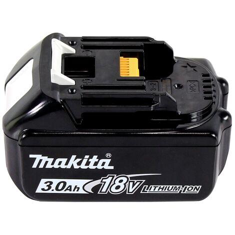 Makita DTD 152 F1J 18V Li-Ion Visseuse à chocs sans fil avec boîtier Makpac + 1x Batterie BL 1830 3,0 Ah Li-Ion - sans Chargeur