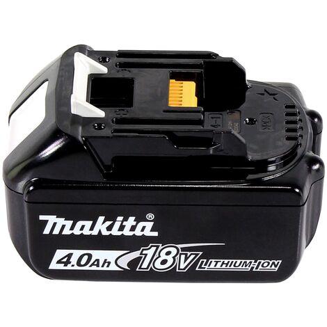 Makita DTD 152 M1J Atornillador de impacto a batería 18V en Makpac 2 + 1x Batería BL 1840 - Sin cargador incluido