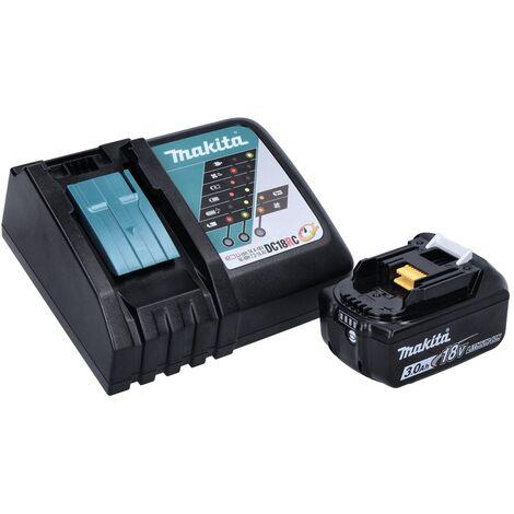 Makita DTD 152 RF1J 18V Li-ion Visseuse à chocs sans fil avec boîtier Makpac + 1x Batterie BL1830 3,0 Ah + Chargeur DC18RC