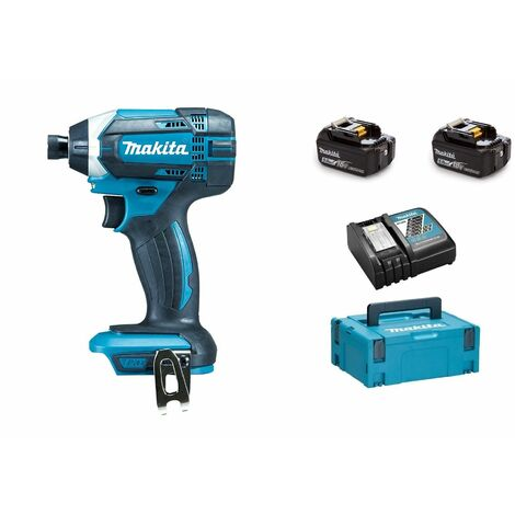 Makita DTD152RTJ Visseuse à chocs à batteries 18V Li-Ion set (2x batterie 5,0Ah) dans MAKPAC