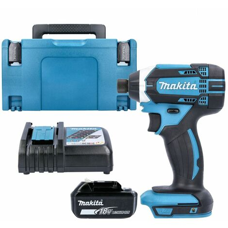Makita DTD152Z 18V Impact Driver with 1 x 3.0Ah Battery, Charger, Case & Inlay
