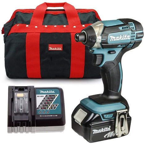 Makita DTD153RFX1 18V LXT Brushless Impact Driver with 1 x 3.0Ah Battery & Charger in Bag