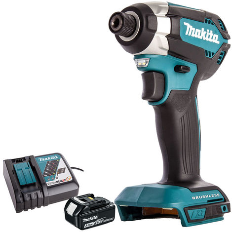 Makita DTD153Z 18V Brushless Impact Driver with 1 x 3.0Ah Battery & Charger:18V