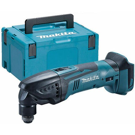 Makita DTM50Z 18v LXT Lithium Cordless MultiTool Multi Tool Bare With Makpac Case:18V