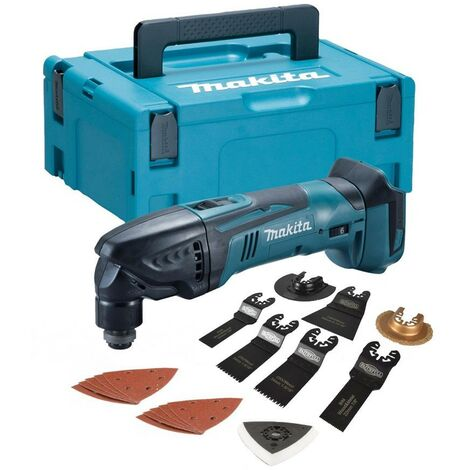 """main image of """"Makita DTM50Z 18v LXT Lithium Ion Cordless Multi Tool + Makpac Case +Accessories"""""""