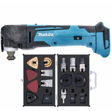 """main image of """"Makita DTM51Z 18V LXT Cordless Multitool With Extra 34 Piece Accessories Set"""""""
