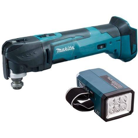 "main image of ""Makita DTM51Z LXT 18V Multi Cutter With Makita DML186 LED Flashlight Torch:18V"""