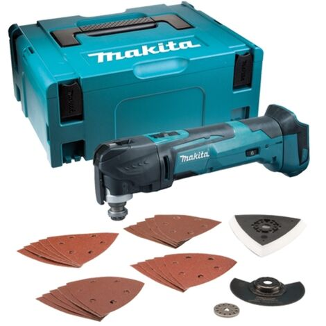 Makita DTM51ZJX7 18V LXT Keyless Blade Change Multi-Tool with Case and Accessories