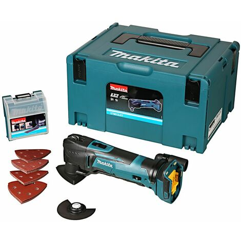 """main image of """"Makita DTM51ZJX7 18V LXT Multi Tool With 23 Accessories in Makpac Type 3 Case"""""""