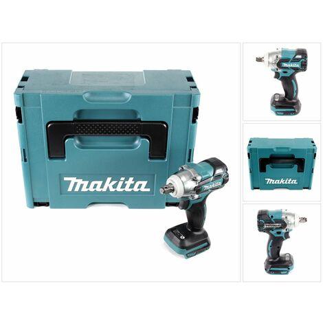 Makita DTW 285 ZJ 18 V Li-Ion Boulonneuse à chocs sans fil avec boîtier Makpac - sans Batteries, ni Chargeur