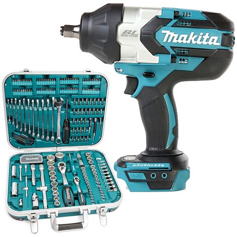 Makita DTW1002 18V Brushless Impact Wrench With P-90532 227