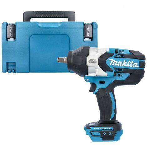 Makita DTW1002Z 18V Brushless Impact Wrench With Type3 Case & Inlay