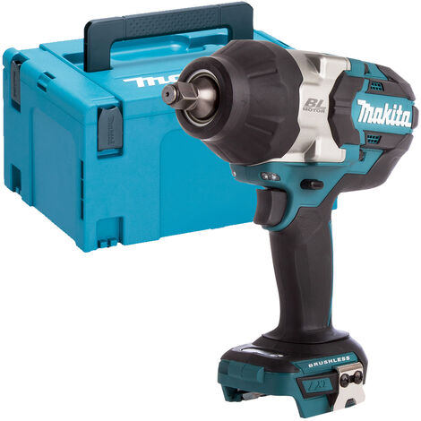Makita DTW1002Z 18V LXT Brushless Cordless Impact Wrench 1/2 Drive + MakPac Case