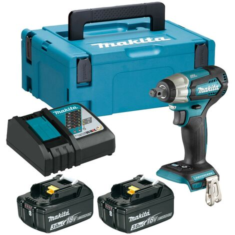 """Makita DTW181RFJ 18v LXT 1/2"""" Impact Wrench Brushless Cordless Compact 2 x 3.0ah"""