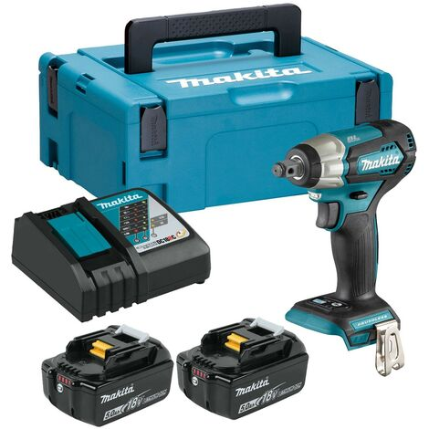"""Makita DTW181RTJ 18v LXT 1/2"""" Impact Wrench Brushless Cordless Compact 2 x 5.0ah"""