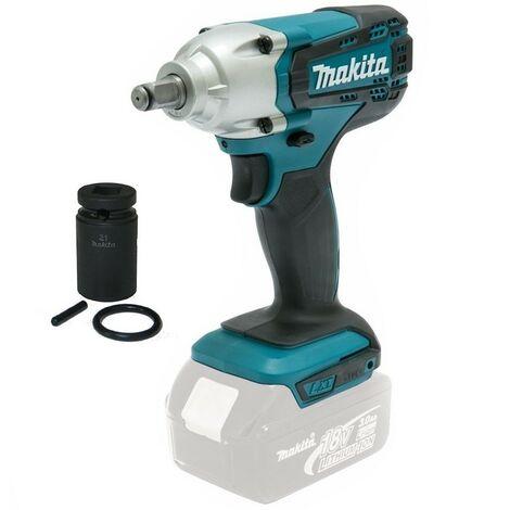 "Makita DTW190Z 18v Cordless 1/2"" Impact Wrench Scaffolding Tool + 21mm Socket"