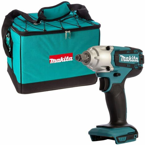 "Makita DTW190Z 18V Li-ion 1/2"" Square Impact Wrench with Heavy Duty Tool Bag"