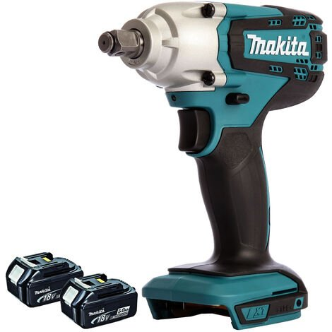 """main image of """"Makita DTW190Z 18V LXT Li-ion 1/2"""" Square Impact Wrench With 2 x 5.0Ah Batteries:18V"""""""