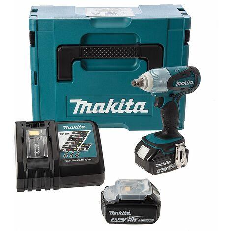 """Makita DTW251RMJ 18V Li-Ion batería Llave de impacto set (2x 4.0Ah batería) en Mbox - 230Nm - 1/2"""""""