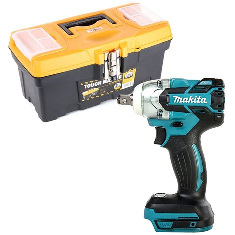 Makita DTW285 18V Brushless Impact Wrench With 16 inch/41 cm Tool Storage Box
