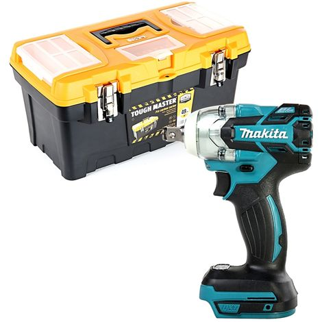 Makita DTW285 18V Brushless Impact Wrench With 19 inch/49cm Tool Storage Box
