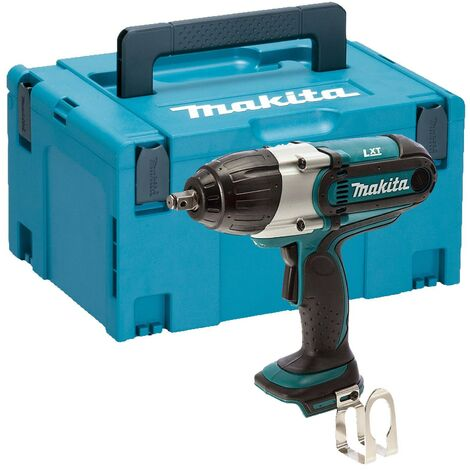 "Makita DTW450Z 18v Lithium Impact Wrench 1/2"" Square Drive + Makpac Case"