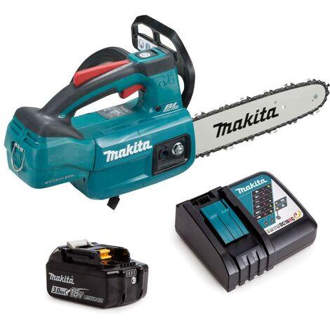 Makita DUC254RF 18v LXT Cordless Brushless 25cm Chainsaw Top Handle 1 x 3.0ah