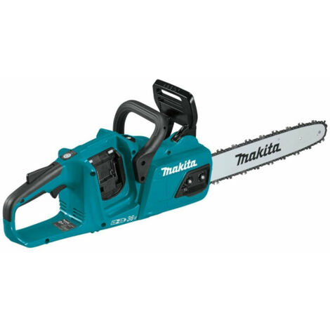 """MAKITA DUC355Z 35CM / 14"""" TWIN 18V LXT BRUSHLESS CHAINSAW BODY ONLY"""