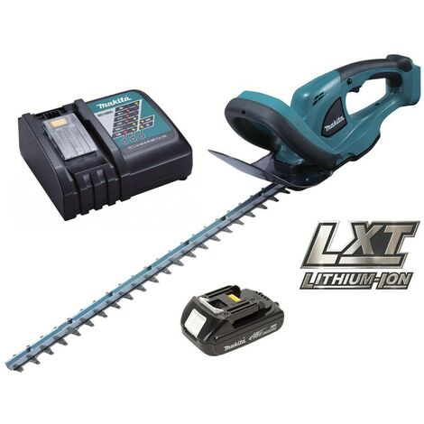 Makita DUH523 LXT 18v Li-Ion Cordless Hedge Cutter 52cm + Battery + Charger