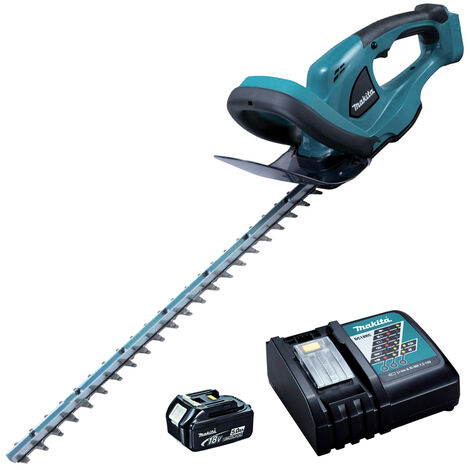 Makita DUH523RT 18V LXT Cordless Hedge Trimmer with 1 x 5.0Ah Battery & Charger