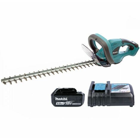 Makita DUH523RT 18V LXT Hedge Trimmer With 1 x 5.0Ah Battery & Charger
