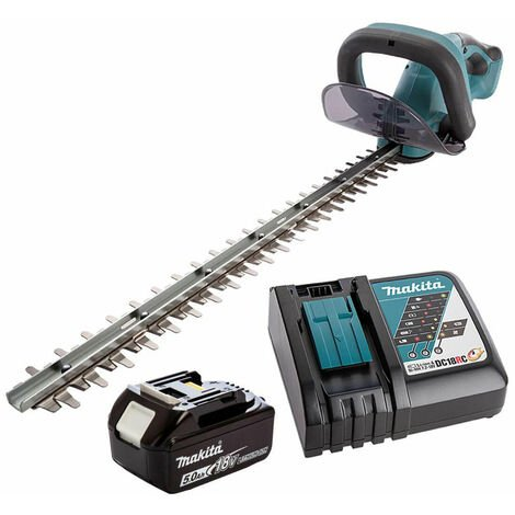 Makita DUH523RT LXT 18V Hedge Trimmer with 1x 5.0Ah Battery