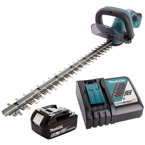 """main image of """"Makita DUH523RT LXT 18V Hedge Trimmer with 1x 5.0Ah Battery AND fast charger"""""""