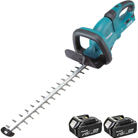 Makita DUH551Z 18v Twin 36v LXT 550mm Hedge Trimmer with 2 x 5.0Ah Battery