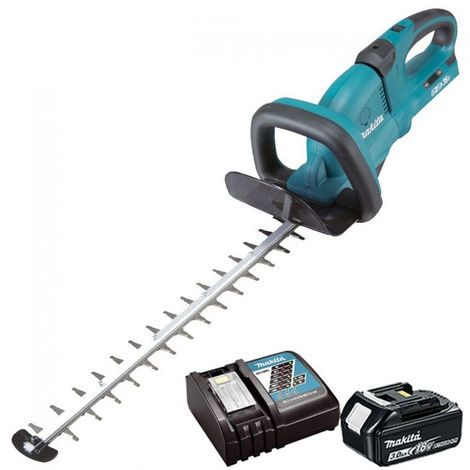 Makita DUH551Z 36V 550mm Hedge Trimmer With 1 x 3Ah Battery & Charger