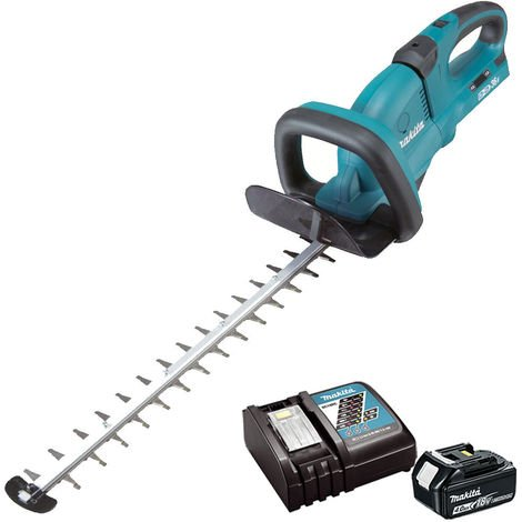 Makita DUH551Z 36V 550mm Hedge Trimmer With 1 x 4Ah Battery & Charger