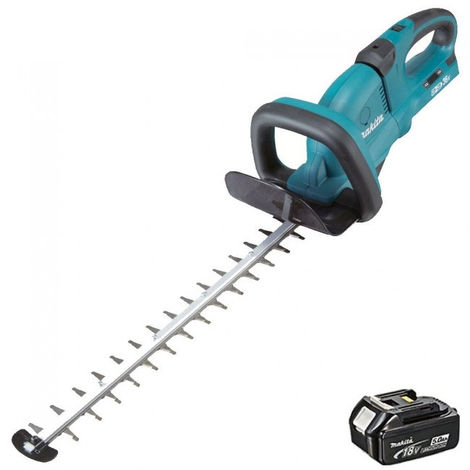 Makita DUH551Z 36V LXT 550mm Hedge Trimmer With 1 x 5.0Ah Battery